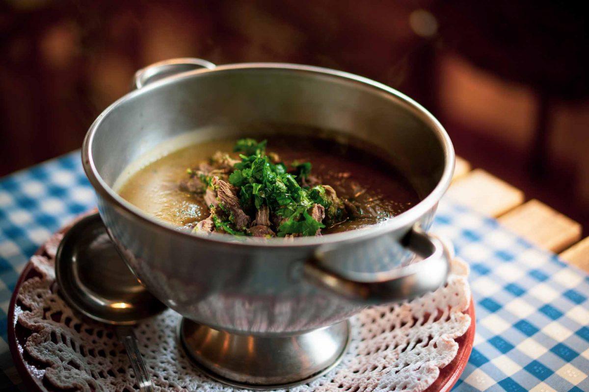Sopa de Castanhas e Perdiz